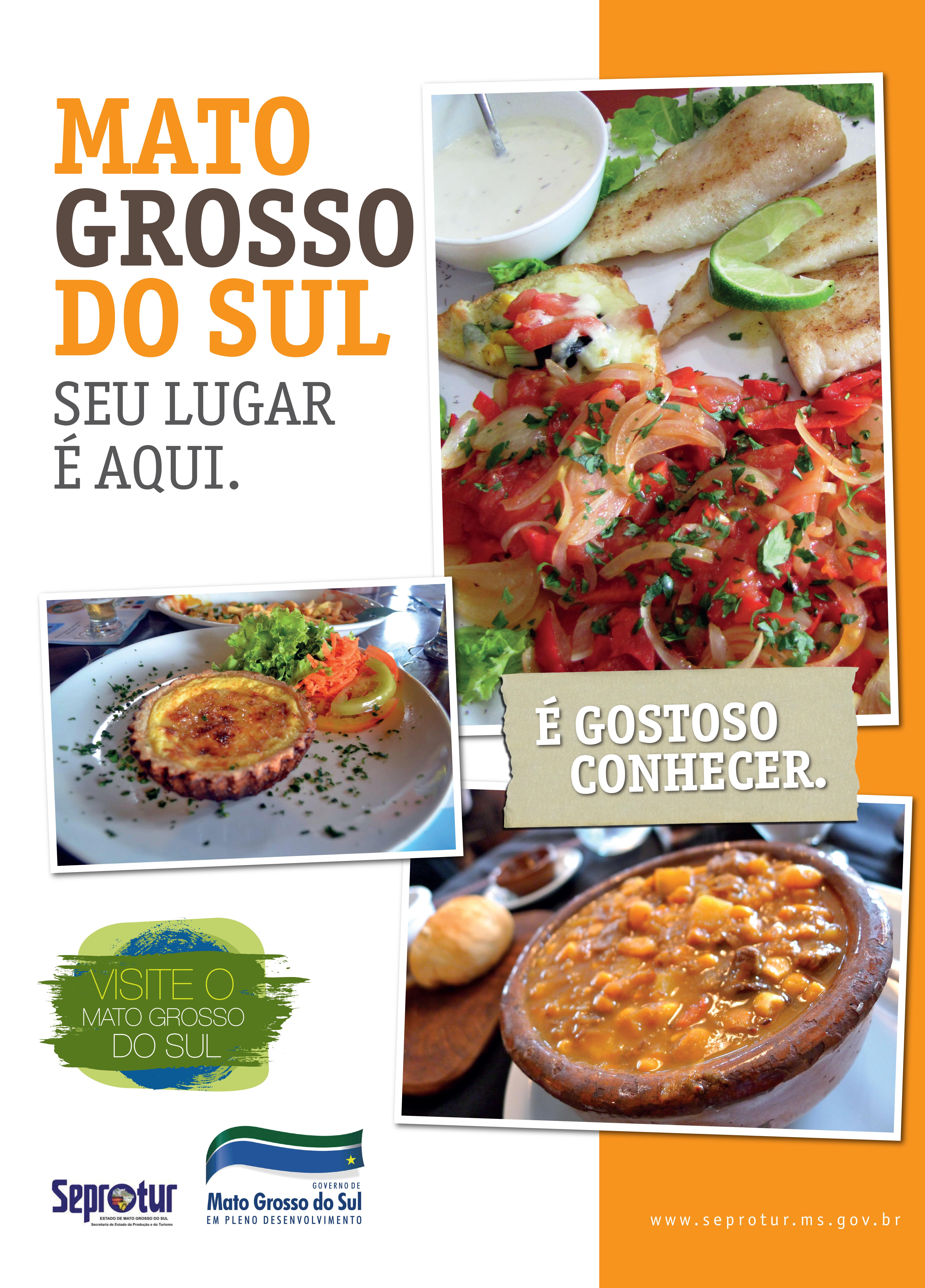 Cartaz MS Gastronomia